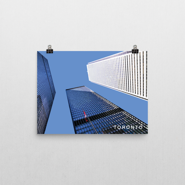 "YHM Designs - Toronto Financial District - 16""x12"""