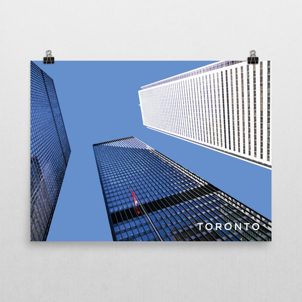 "YHM Designs - Toronto Financial District - 24""x18"""