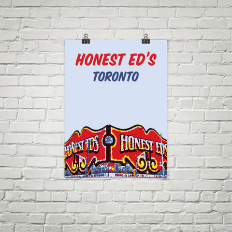 YHM Designs - Honest Ed's Poster (Toronto) - Wall