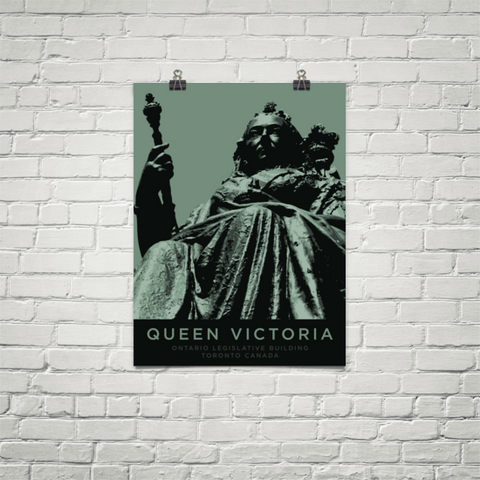 YHM Designs - Queen Victoria Statue (Toronto) Poster - Wall