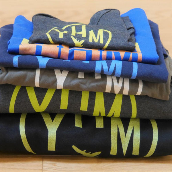 YHM Designs Airport Code Apparel
