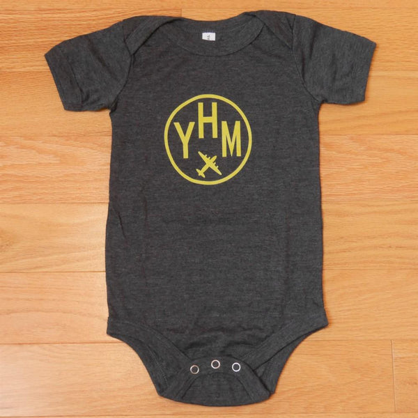 YHM Designs - Infant Bodysuit with Airport Code 02