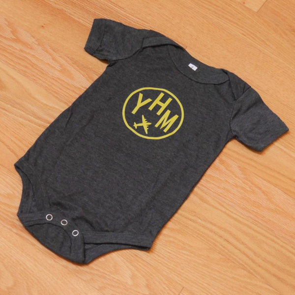 YHM Designs - Infant Bodysuit with Airport Code 03