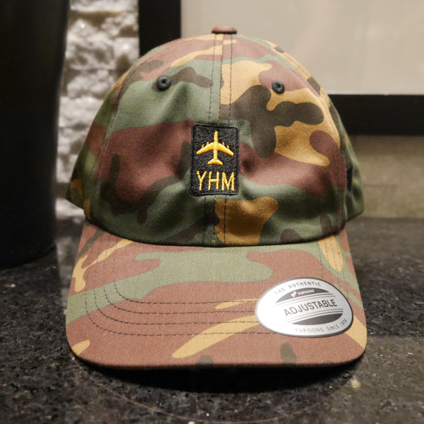 YHM Designs - Airport Code Baseball Cap 05