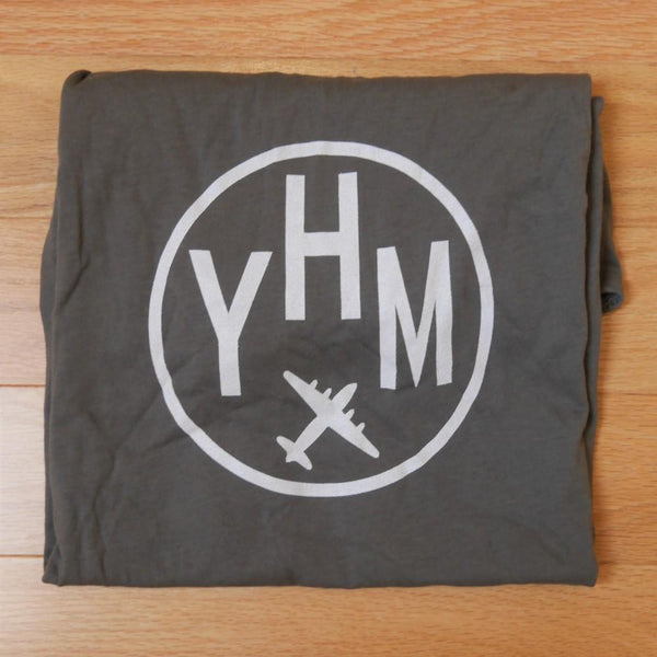 YHM Designs - Vintage Roundel Airport Code Adult T-Shirt 1
