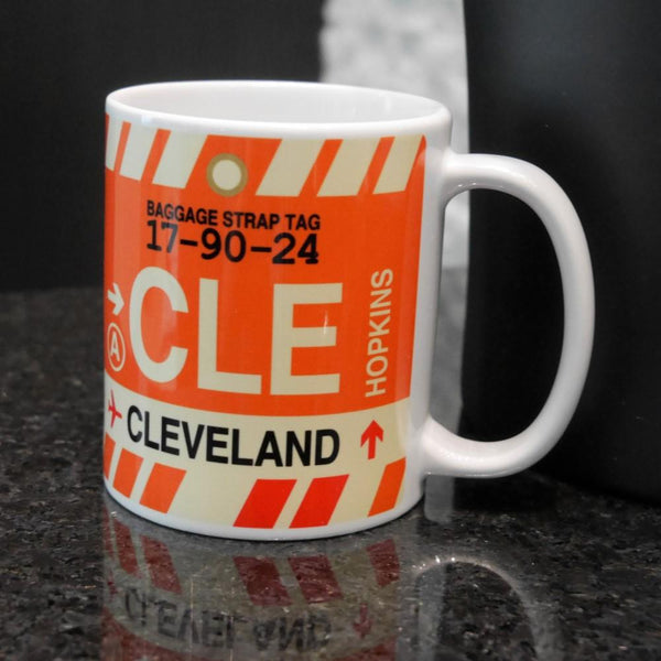 YHM Designs - DTW Detroit Airport Code Coffee Mug - Image 04