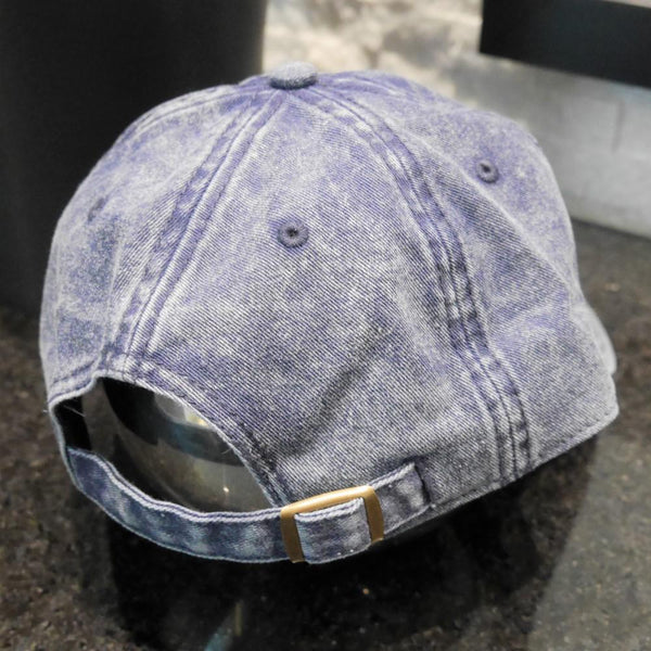 YHM Designs - Vintage Roundel Airport Code Cotton Twill Cap 2