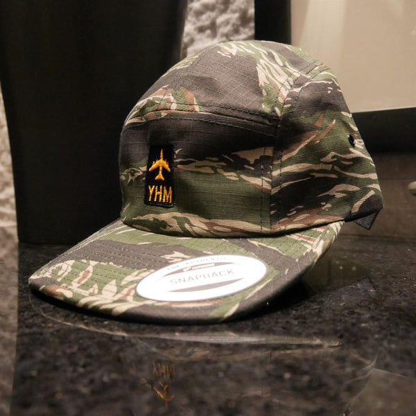 YHM Designs - Jetliner Airport Code Camper Hat 2