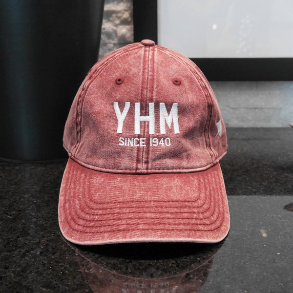 YHM Designs - Airport Code Cotton Twill Cap - Since XXXX 01