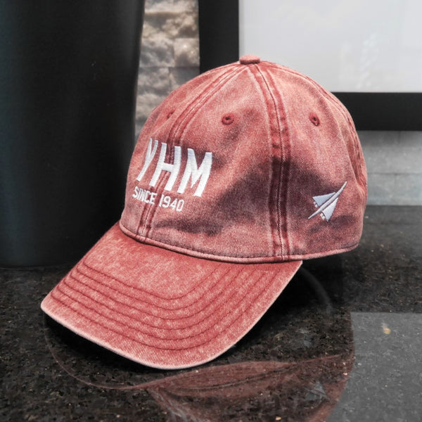 YHM Designs - Airport Code Cotton Twill Cap - Since XXXX 02