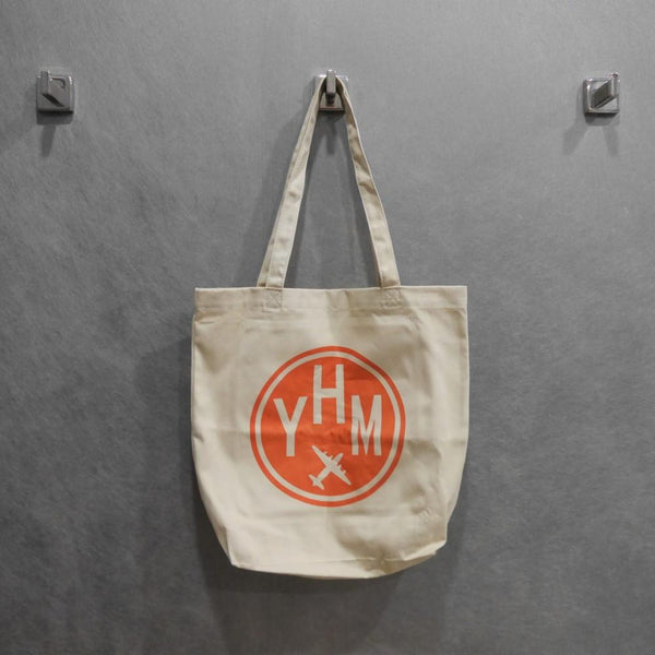 YHM Designs - Airport Code Organic Tote Bag 2