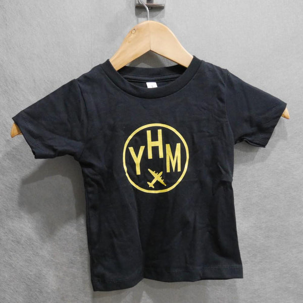 YHM Designs - Vintage Roundel Airport Code Baby T-Shirt 1