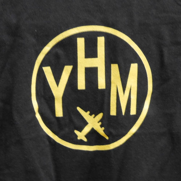 YHM Designs - Vintage Roundel Airport Code Baby T-Shirt 4
