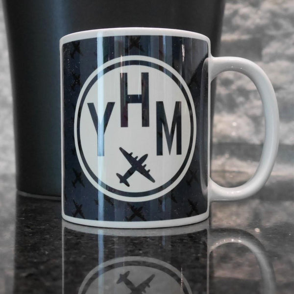 YHM Designs - Vintage Roundel Coffee Mug 01