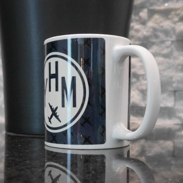 YHM Designs - Vintage Roundel Coffee Mug 02