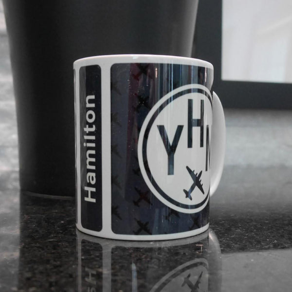 YHM Designs - Vintage Roundel Coffee Mug 05