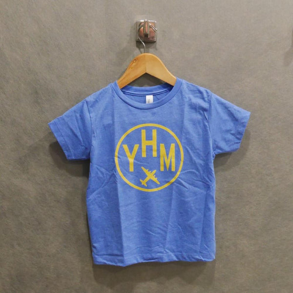 YHM Designs - Vintage Roundel Airport Code Toddler T-Shirt 1