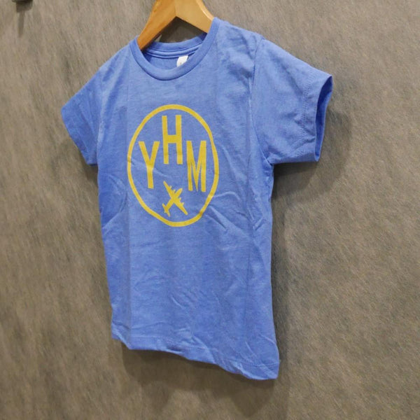 YHM Designs - Vintage Roundel Airport Code Toddler T-Shirt 2