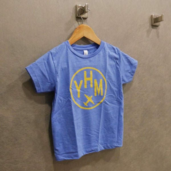 YHM Designs - Vintage Roundel Airport Code Toddler T-Shirt 3