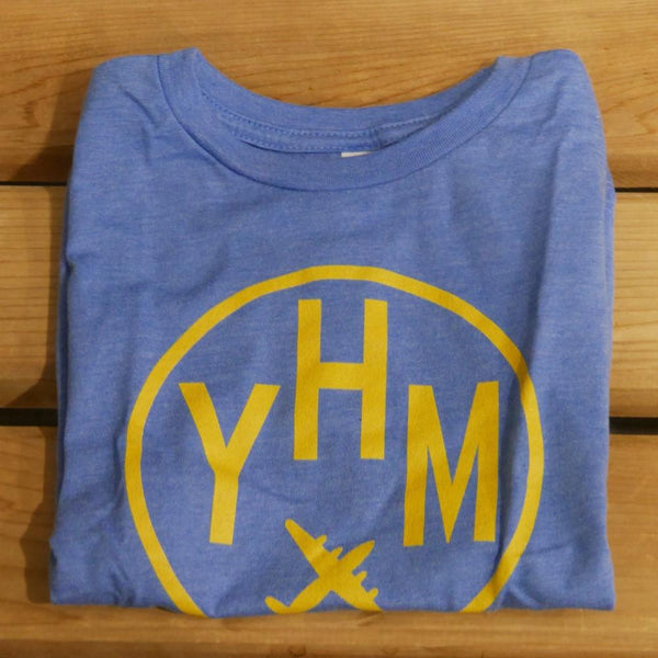 YHM Designs - Vintage Roundel Airport Code Toddler T-Shirt 4