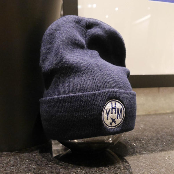 YHM Designs - Vintage Roundel Airport Code Winter Hat 3