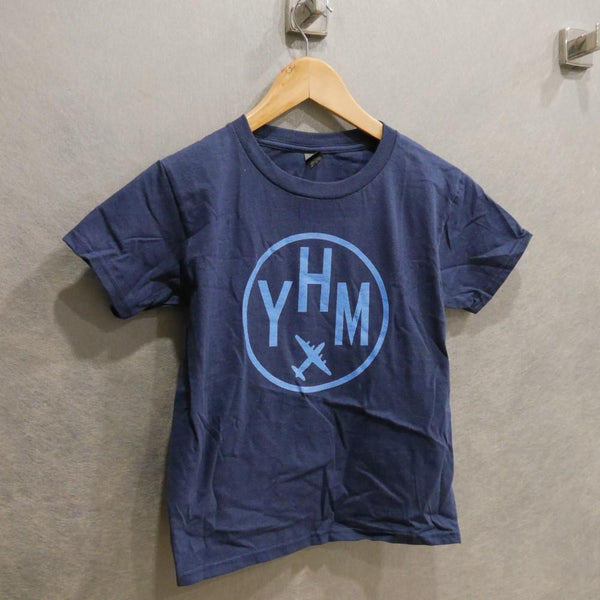 YHM Designs - Vintage Roundel Airport Code Youth T-Shirt 1