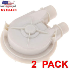 2 Pack 131208500 Washer Drain Pump for Frigidaire AP2106307 3204452 5303272432