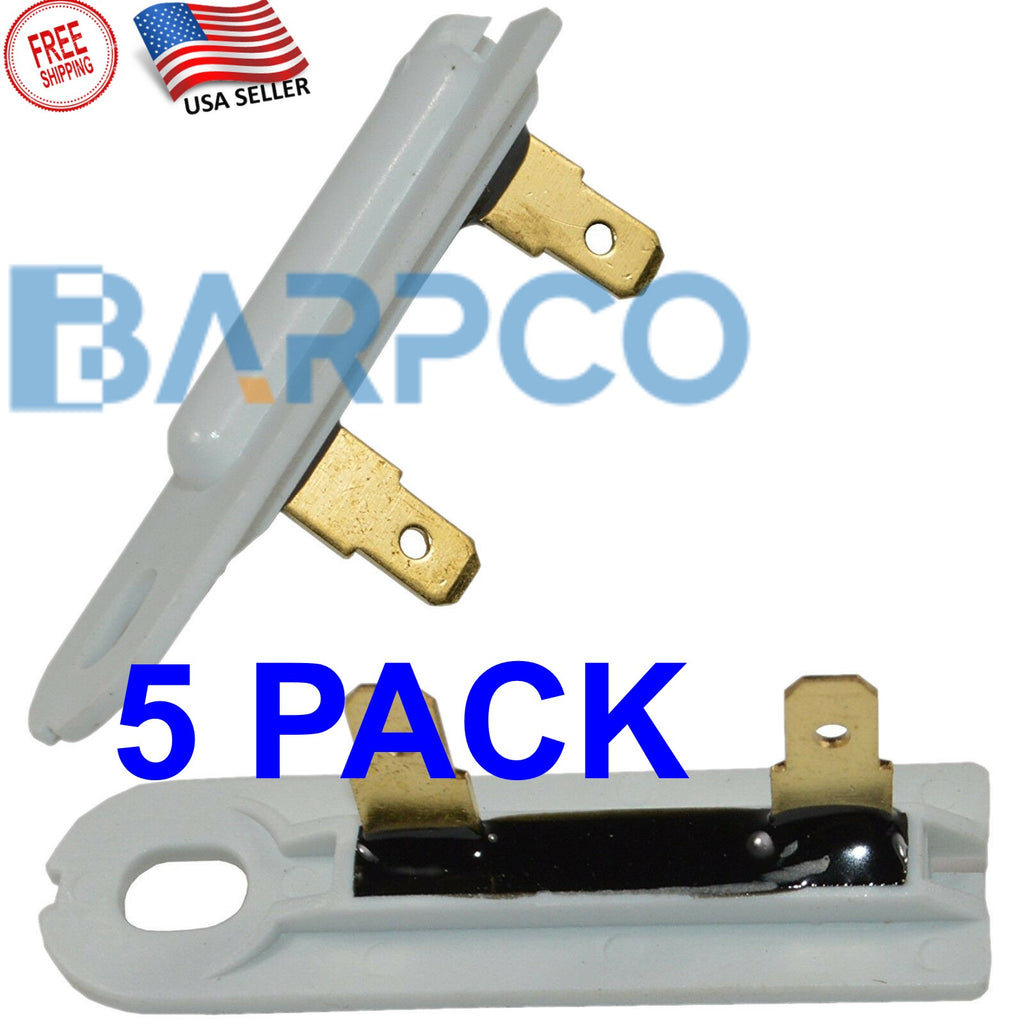 (5 PACK )3392519 Dryer Thermal Fuse Replacement for Whirlpool Kenmore Dryer