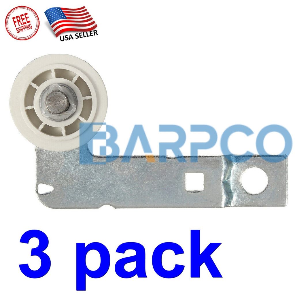 (3 PACK) Dryer Idler Pulley Bracket For Whirlpool W10837240 W10547290