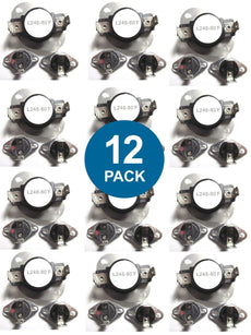 (12 PACK) LA-1053 LA1053 Maytag Dryer Thermostat Fuse Limit Set