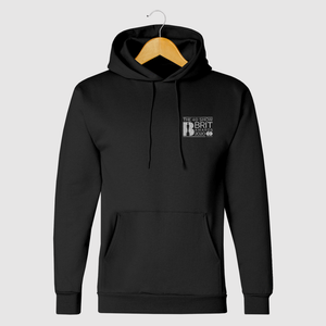 The BRIT Awards Unisex Black Hoody