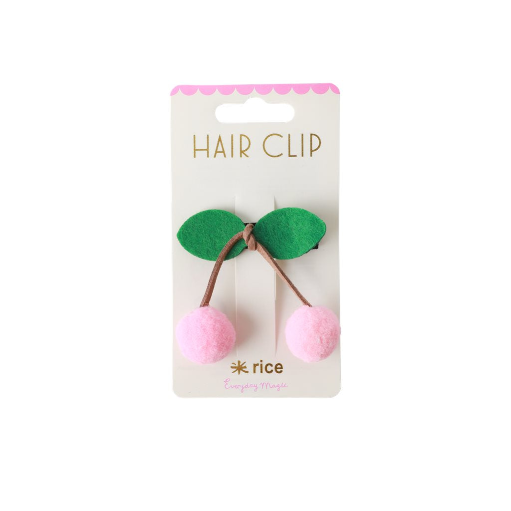 RICE hair clip in soft pink