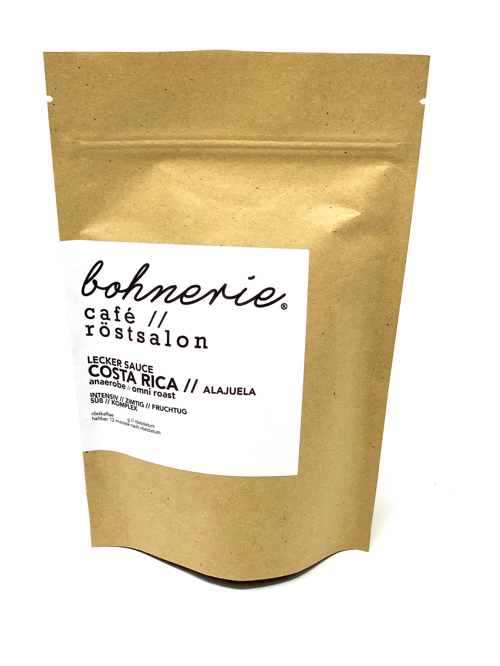 bohnerie Costa Rica, super special coffee