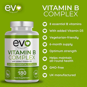 Vitamin B Complex - enriched with Vitamin D3