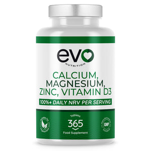 Calcium, Magnesium, Zinc and Vitamin D3