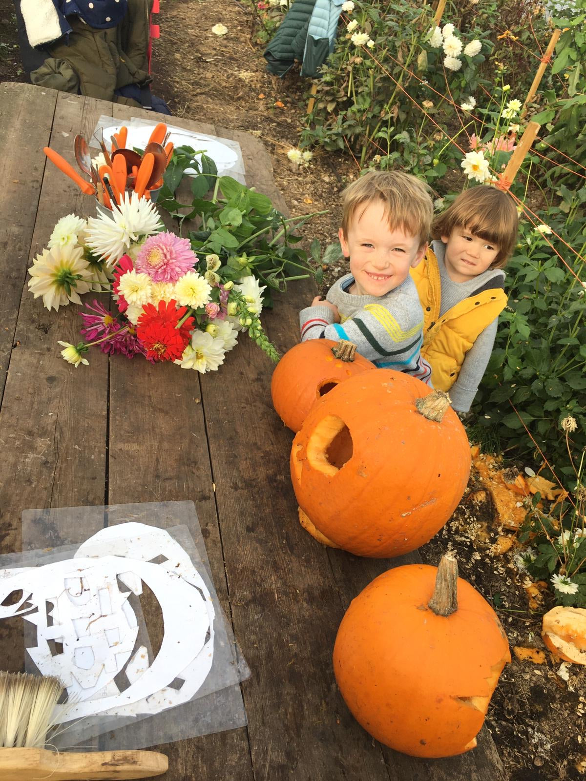 Pumpkins, spooky walks and fun for children this Halloween