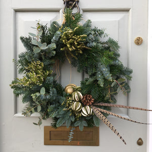 Christmas Wreath Making Workshops - See dates to book