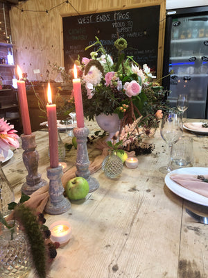 Table Party Floral Design Workshop - Sat 12th September