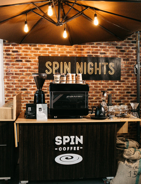 SPIN Coffee Cart