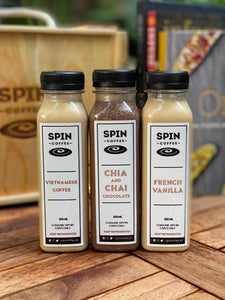 SPIN Coffee Trio Pack (choice of any 3 bottles)