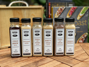 SPIN Coffee Sampler Pack (choice of any 6 bottles)