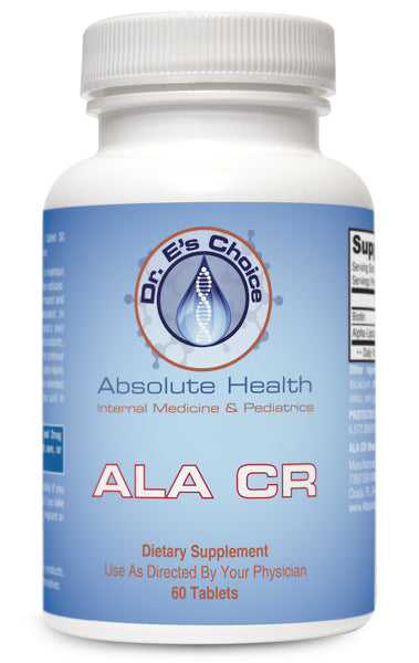 ALA CR , Pharmacy Grade Supplements - doctorestore, Doctor E's Choice Store