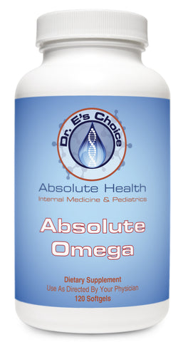 Absolute Omega , Pharmacy Grade Supplements - doctorestore, Doctor E's Choice Store