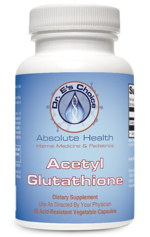 Acteyl Glutathione , Pharmacy Grade Supplements - doctorestore, Doctor E's Choice Store