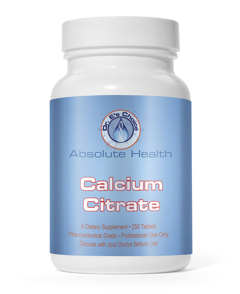 Calcium Citrate , Pharmacy Grade Supplements - doctorestore, Doctor E's Choice Store