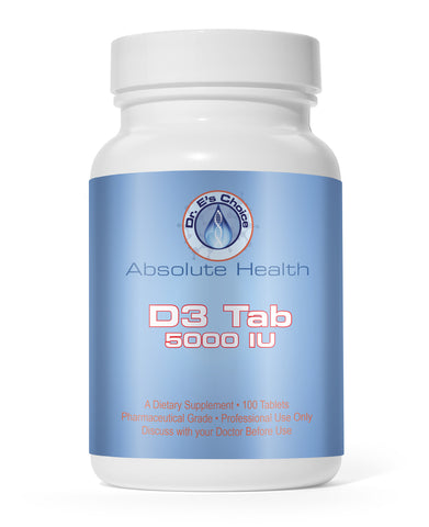 D3 Tab 5000 , Pharmacy Grade Supplements - doctorestore, Doctor E's Choice Store