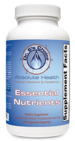 Essential Nutrients , Pharmacy Grade Supplements - doctorestore, Doctor E's Choice Store