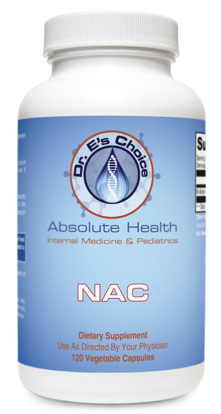 NAC , Pharmacy Grade Supplements - doctorestore, Doctor E's Choice Store