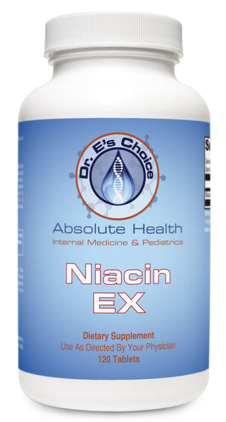 Niacin EX , Pharmacy Grade Supplements - doctorestore, Doctor E's Choice Store