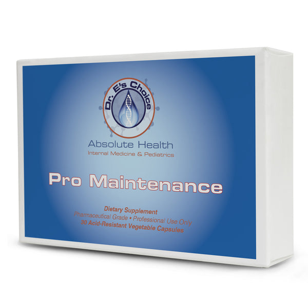 Pro Maintenance , Pharmacy Grade Supplements - doctorestore, Doctor E's Choice Store